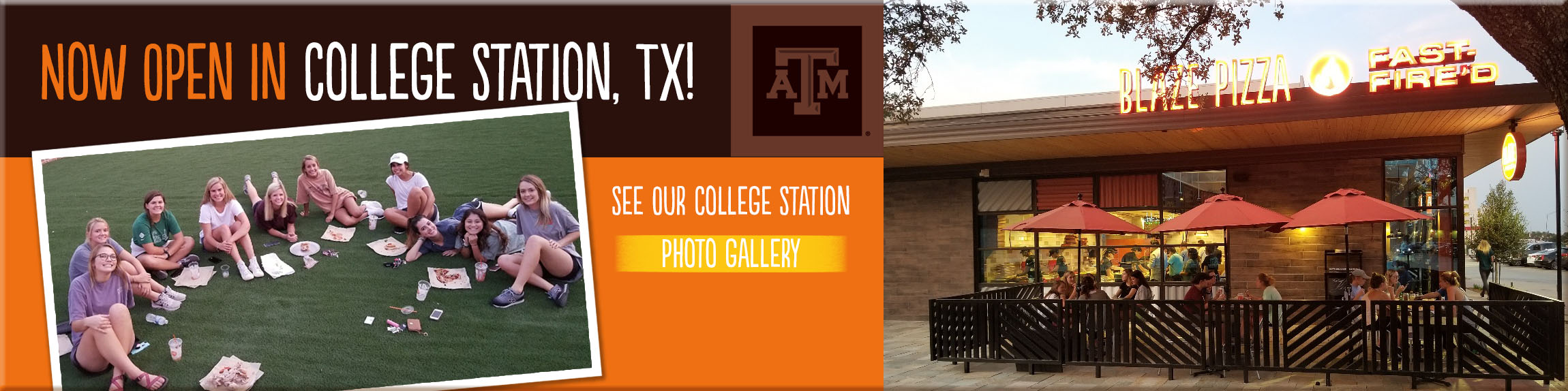 Now Open in College Station, TX